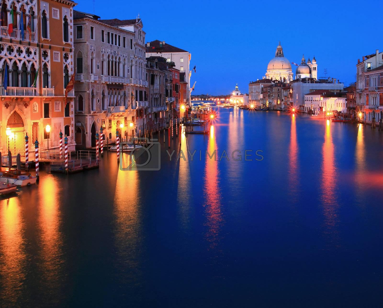 Santa Maria Della Salute, Church of Health, Grand canal Venice Italy