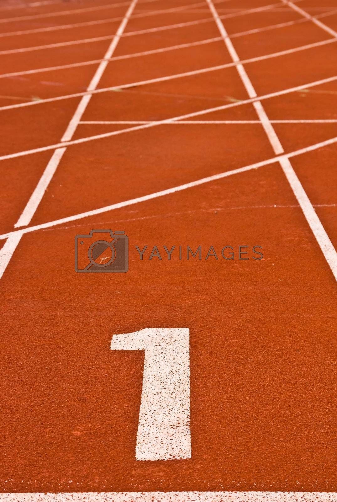 To be Number one Race Track, Abstract