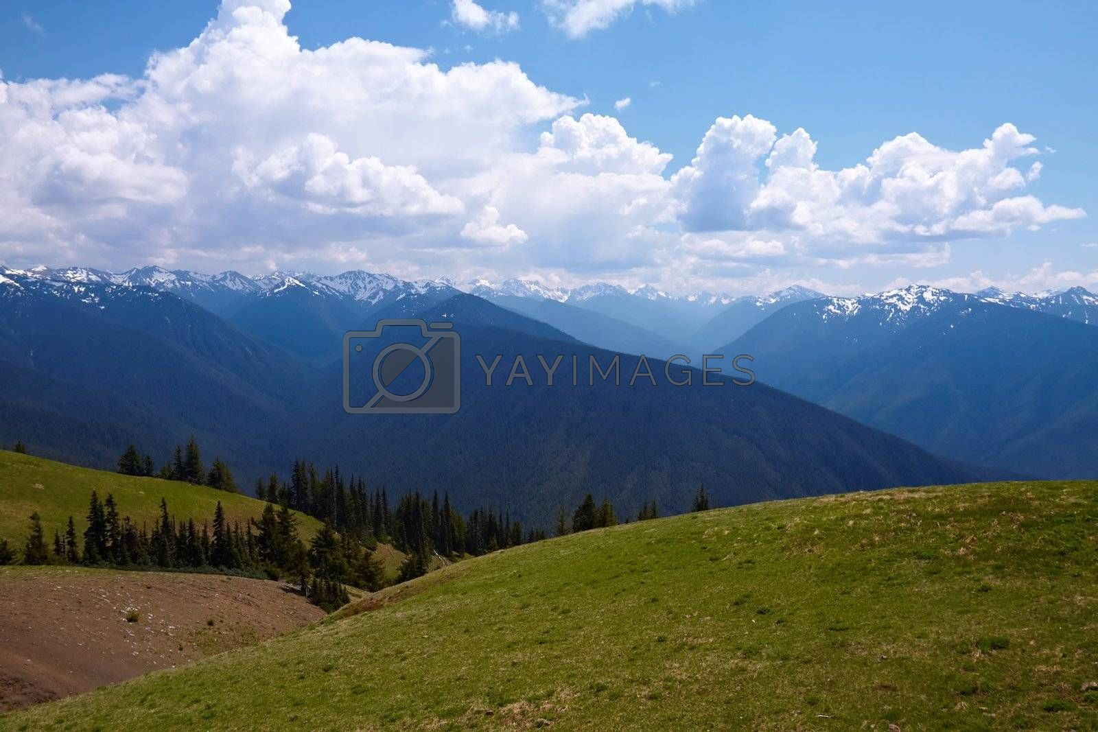 Royalty free image of Mountain Landscape by LoonChild