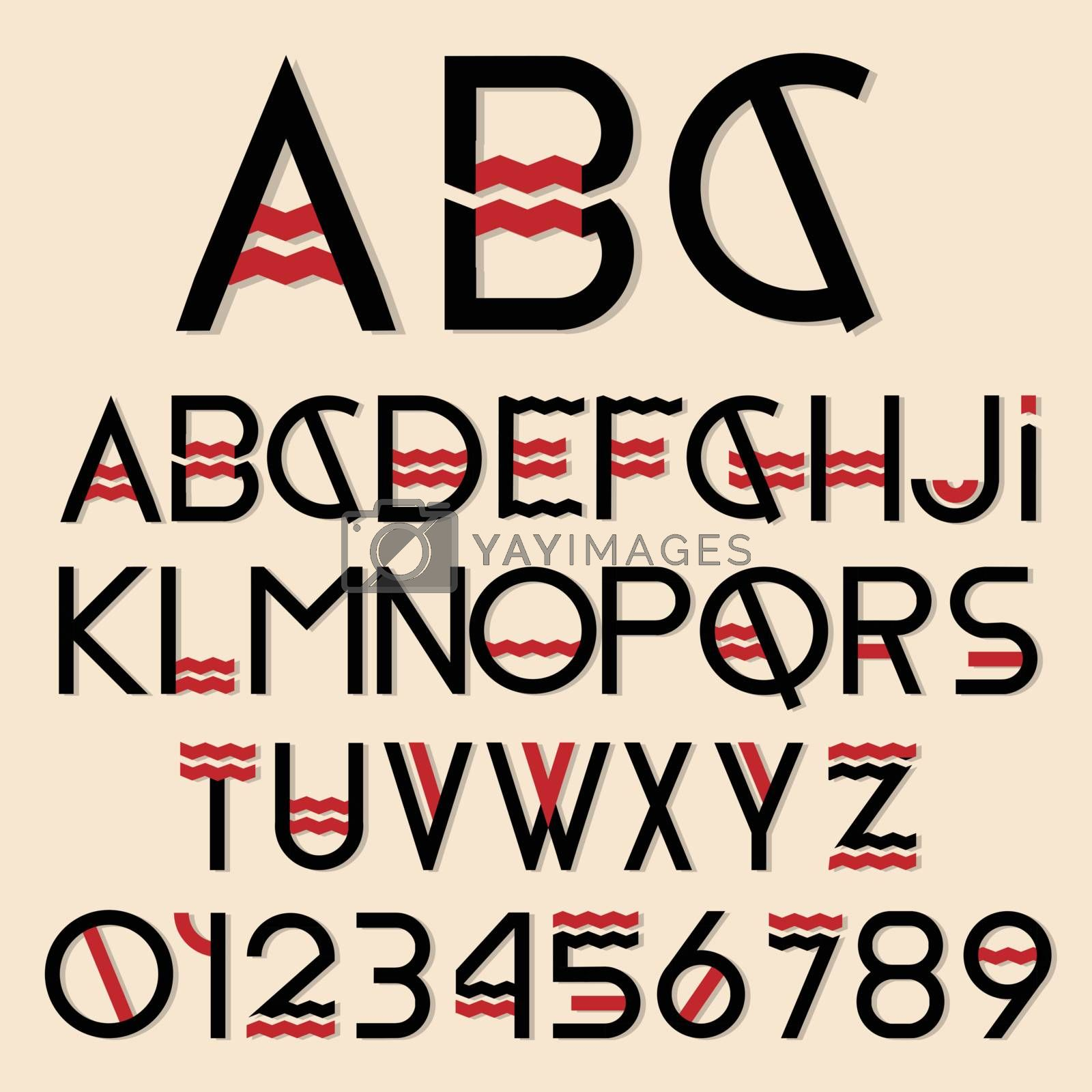 Alphabet by rastonen