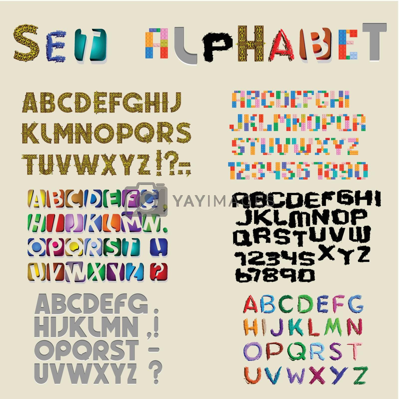 Alphabet by rastonen