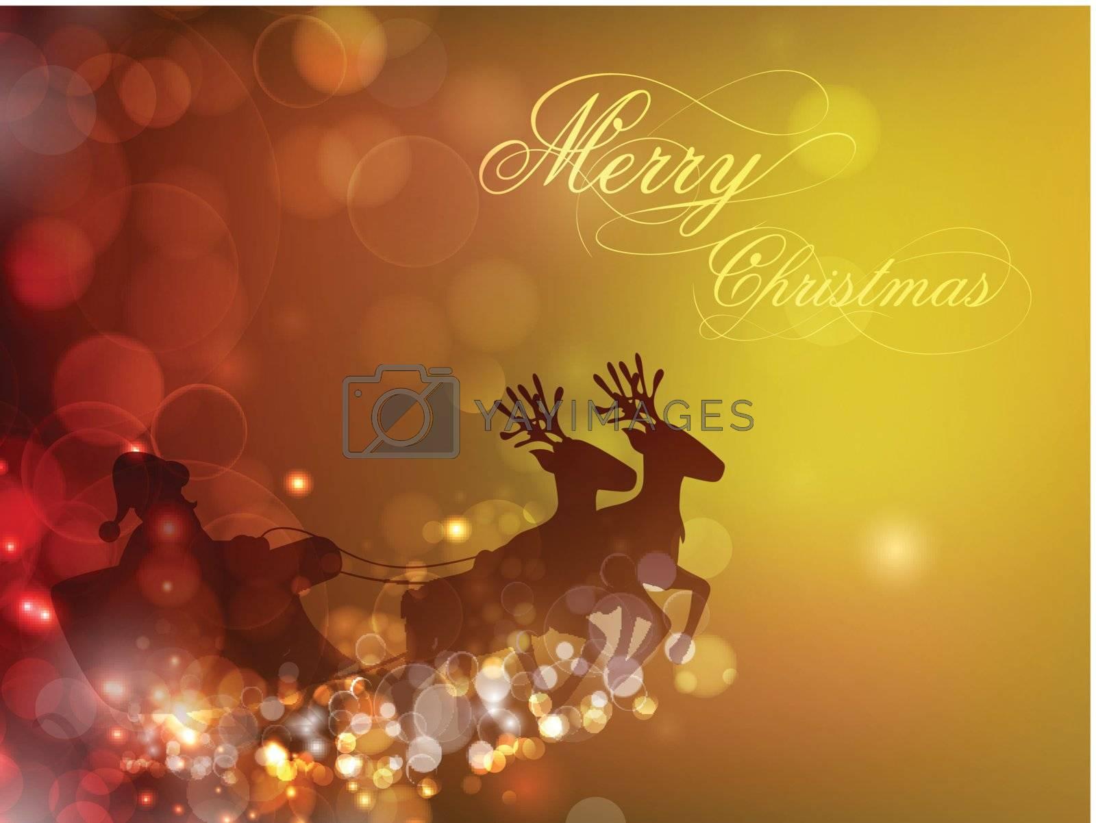 Christmas background by rastonen