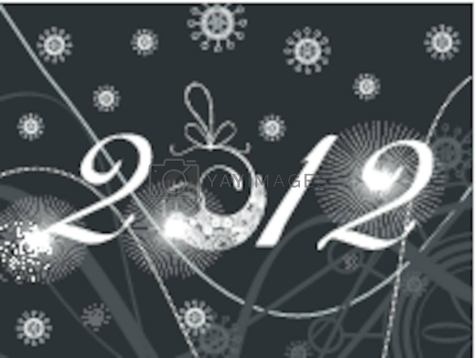 abstract artwork illustration for 2012