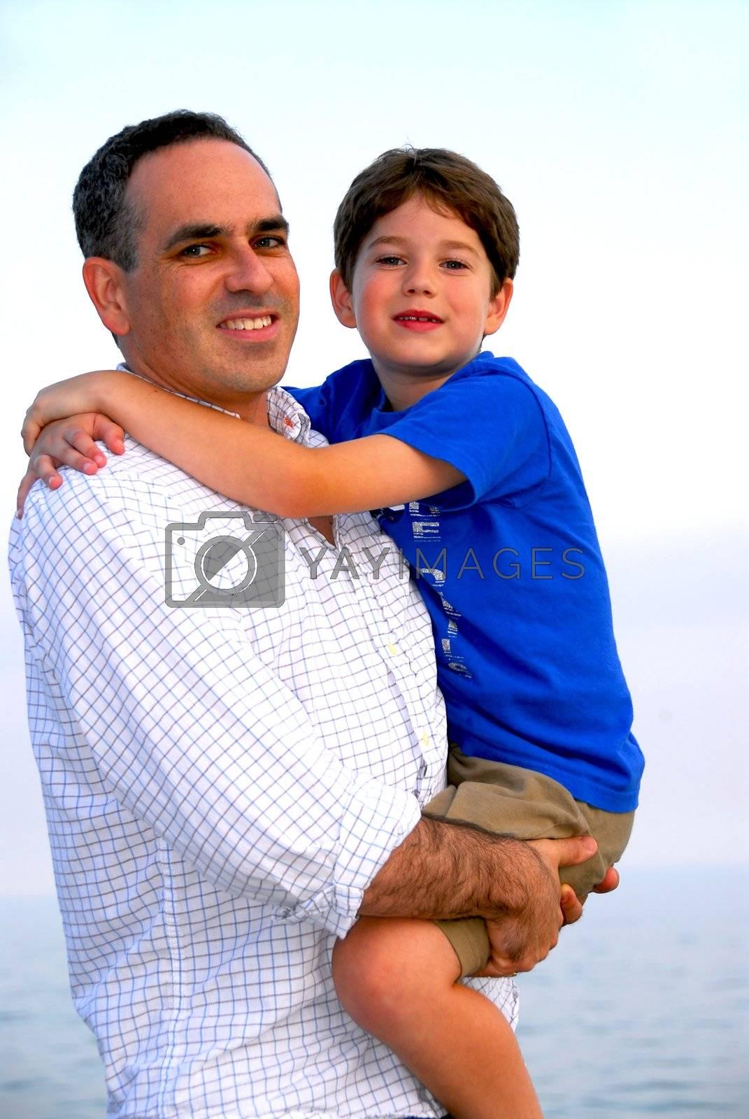 Father son portrait by elenathewise