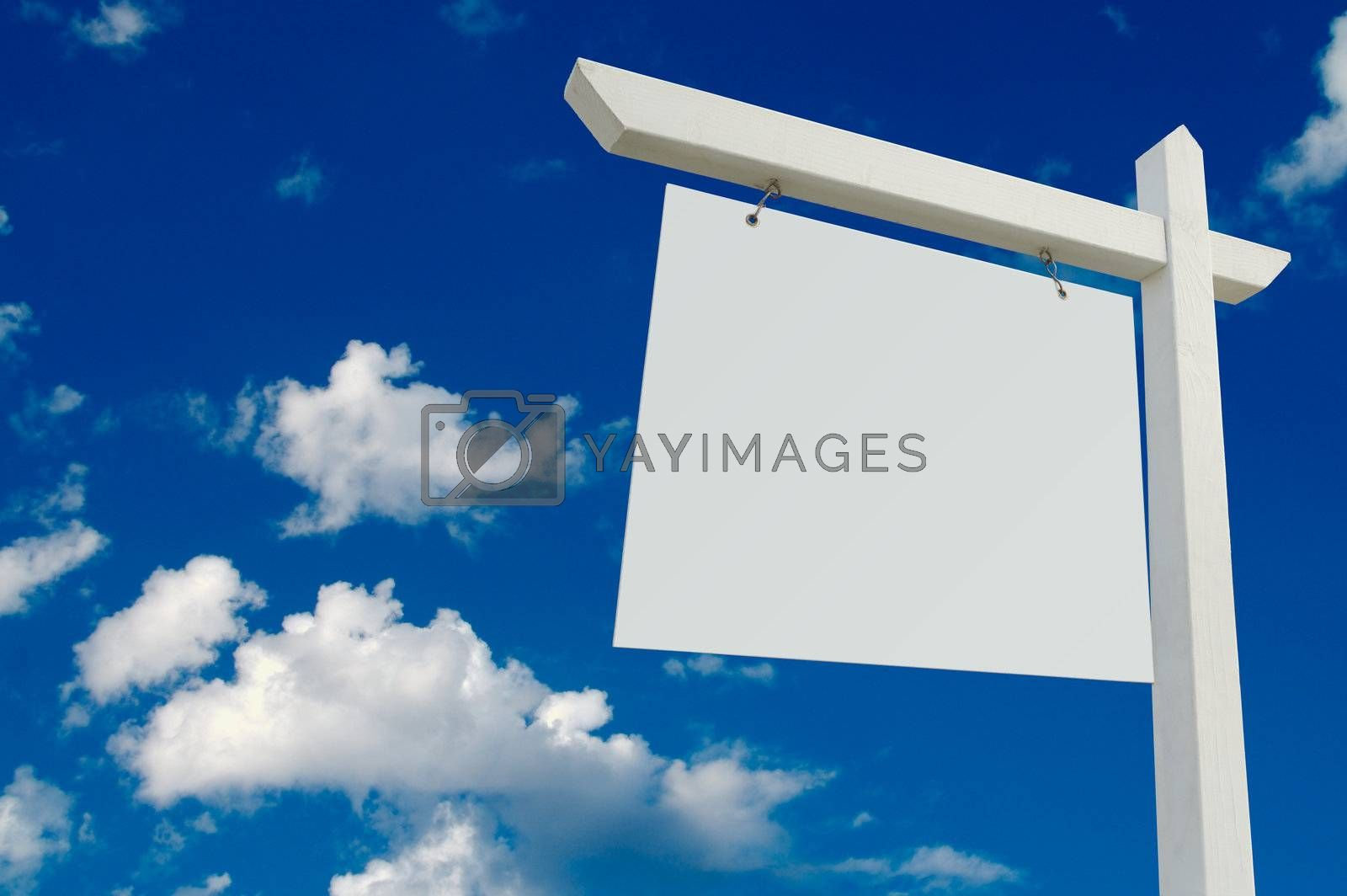Blank Real Estate Sign by Feverpitched