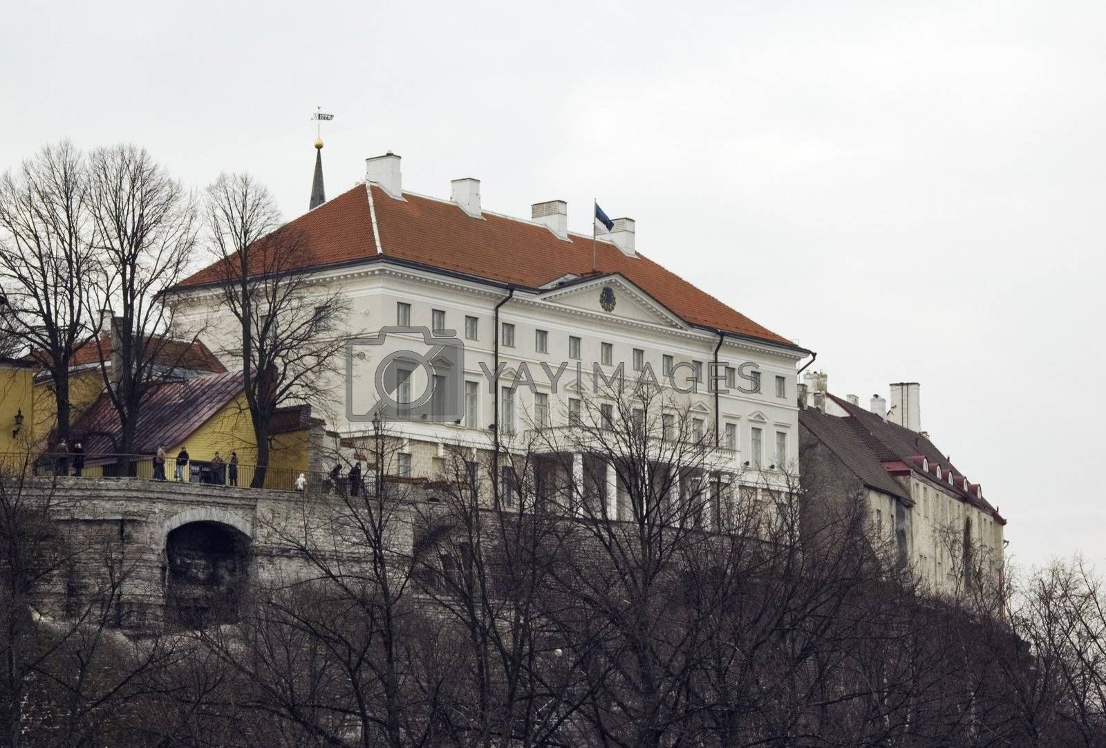 The house of the government of the Estonian Republic