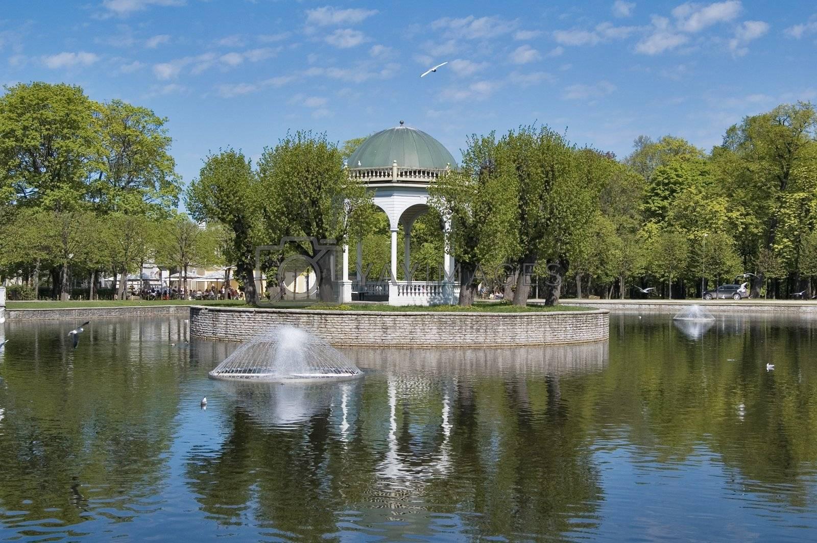 Park Kadriorg in Tallinn
