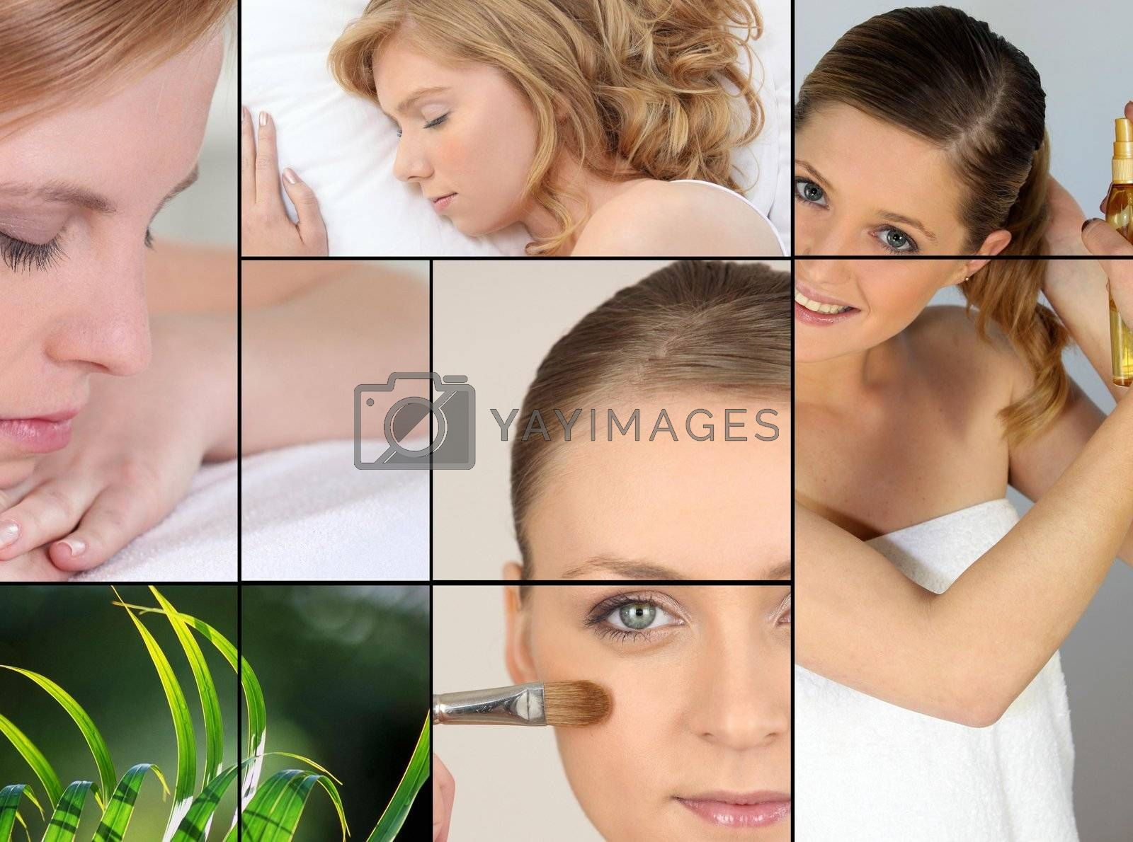 Women, beauty and relaxation by phovoir