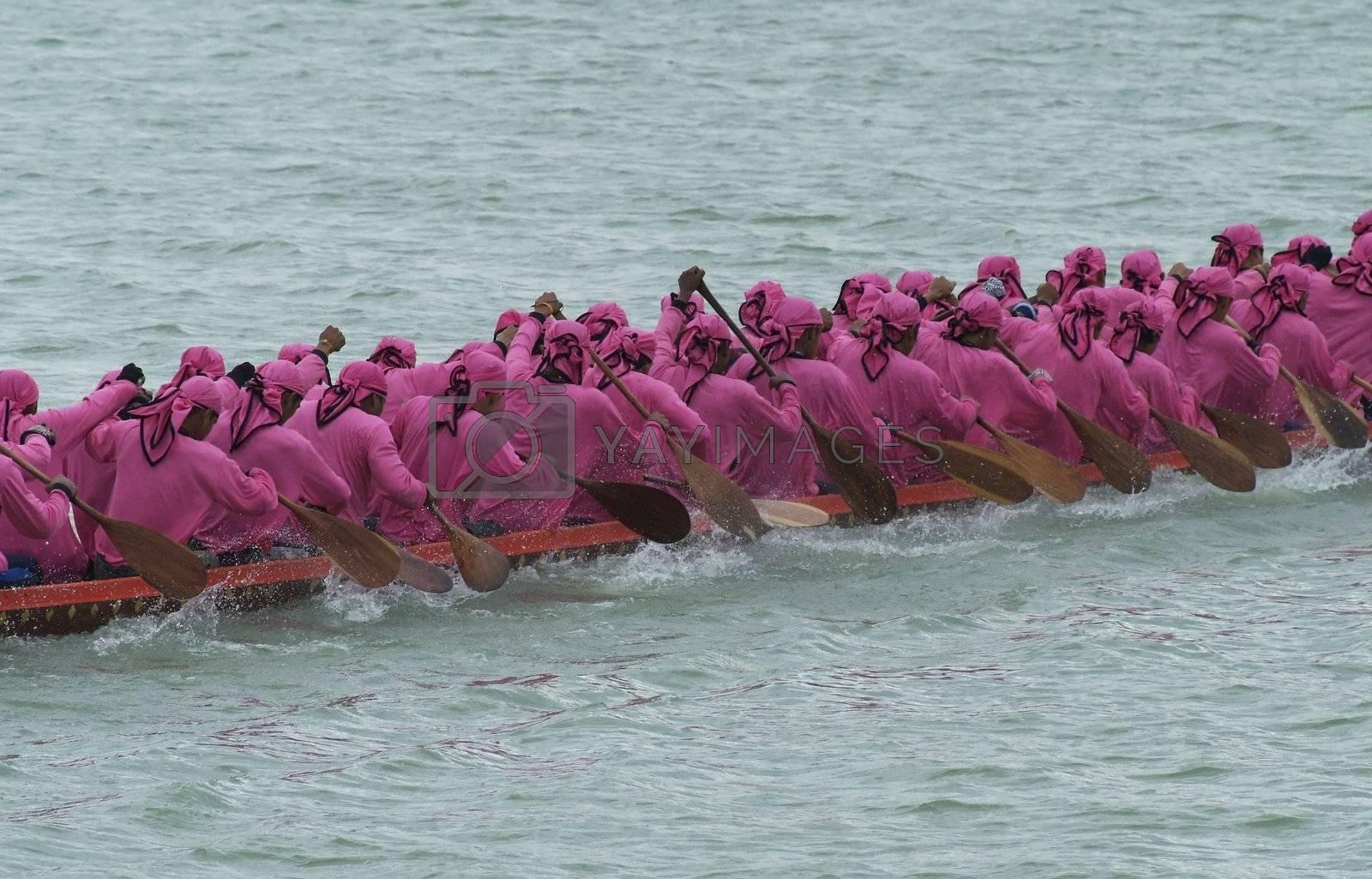 Longboat racing by epixx