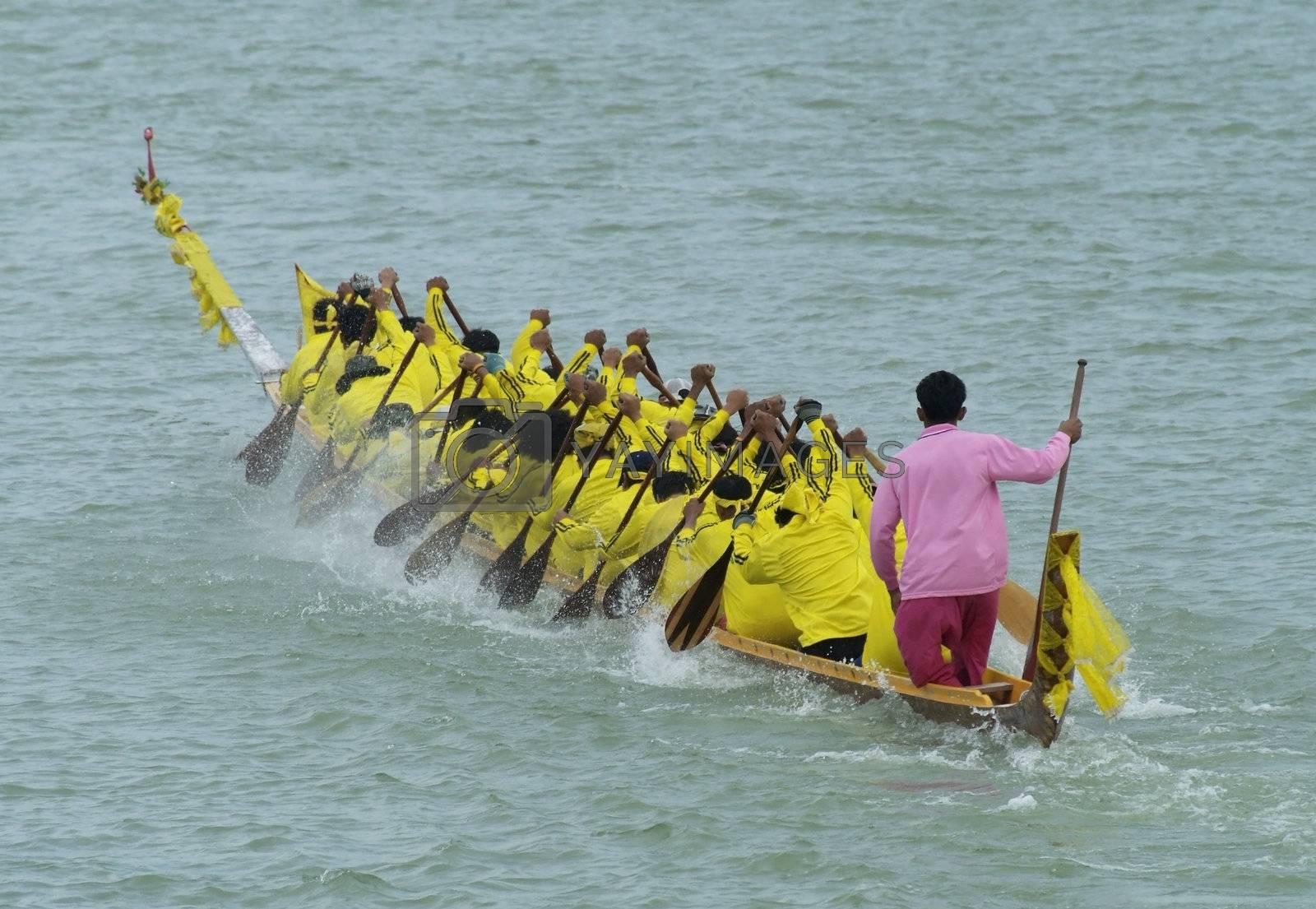 Longboat race by epixx