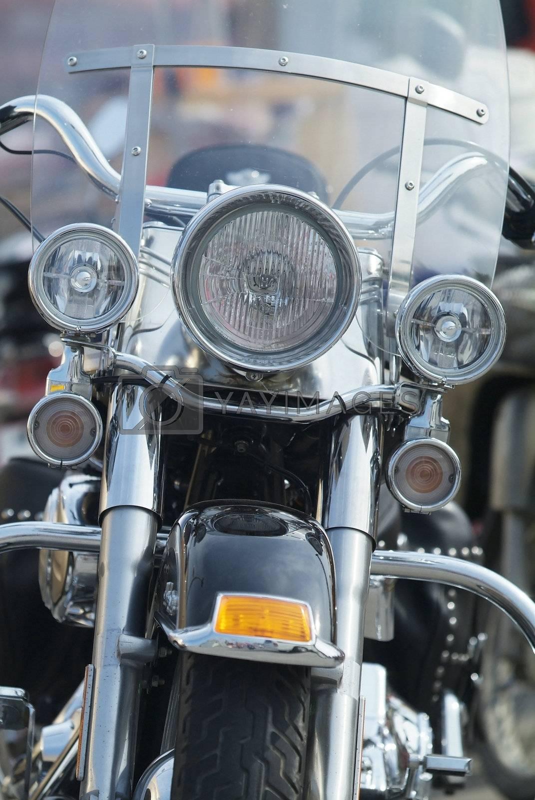 Classic American motorbike by epixx