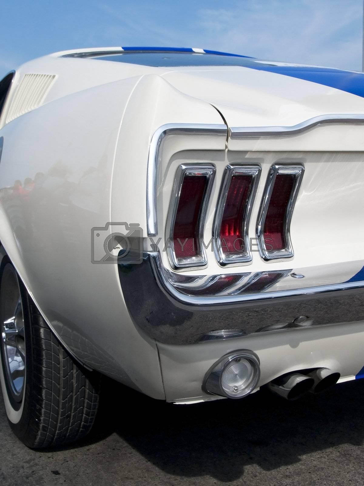 Detail of American sportscar by epixx