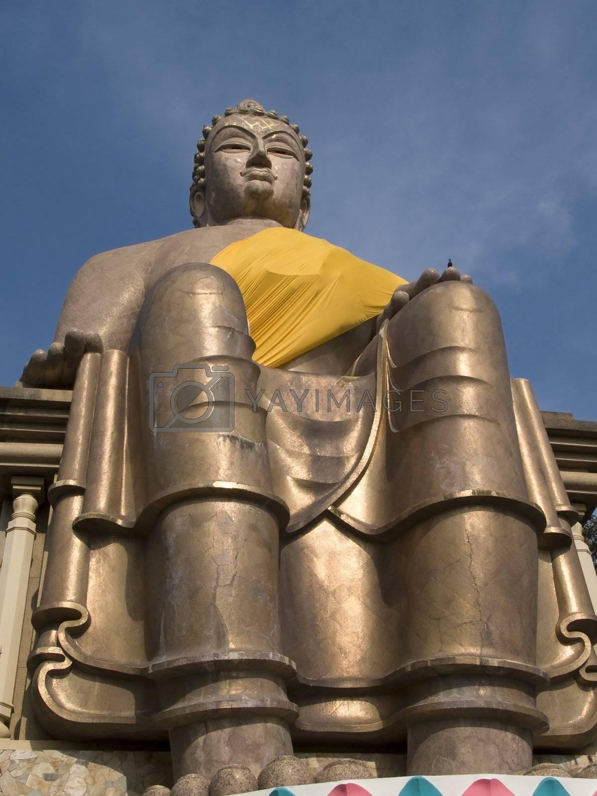 Sitting Buddha image by epixx