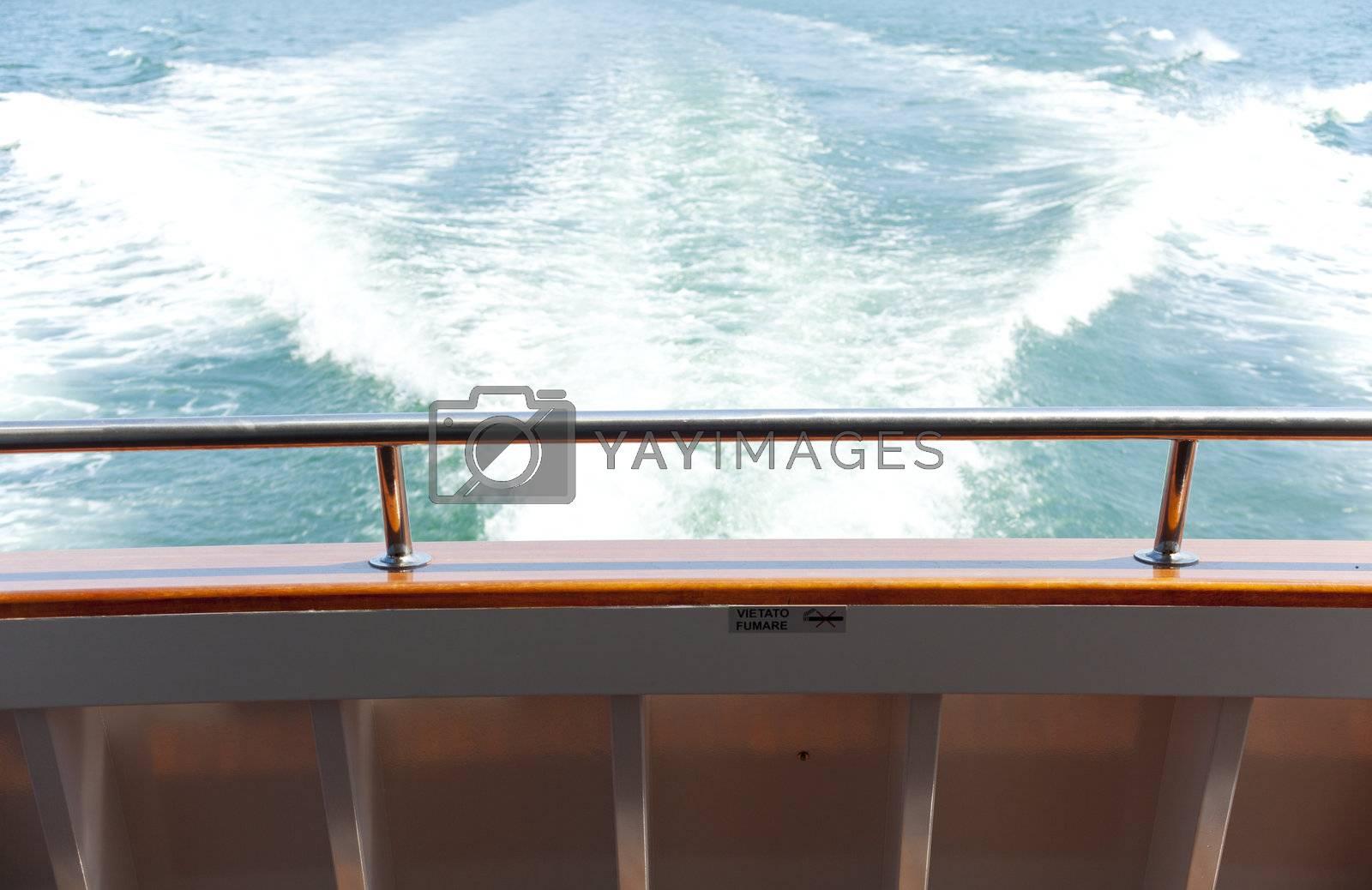 Seaview of a Ferry boat - Grado