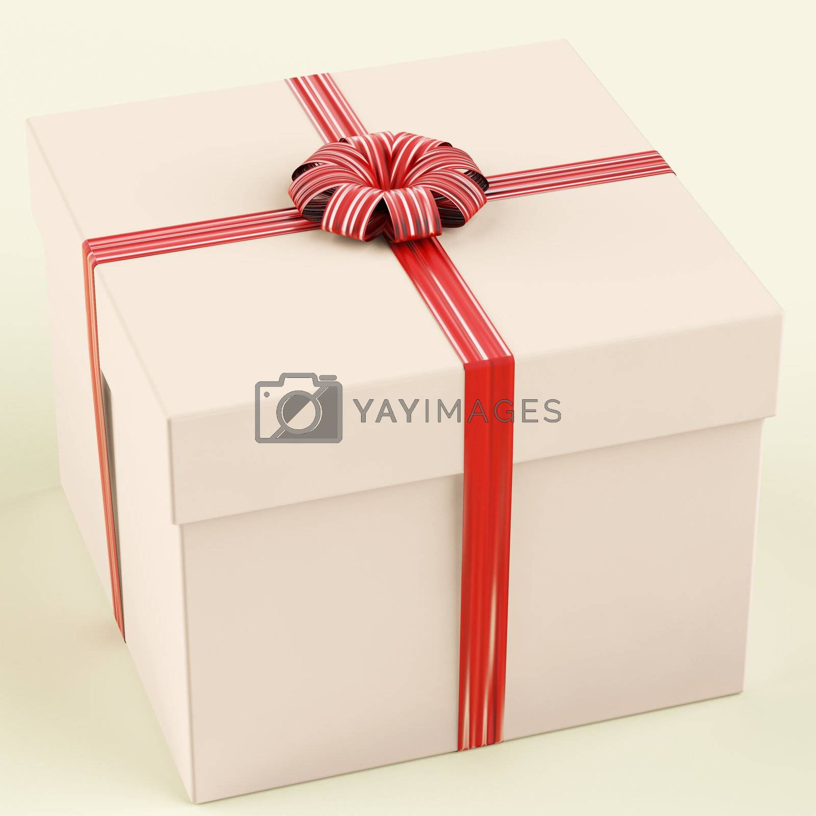 Pink Gift Box As Birthday Present For Girls