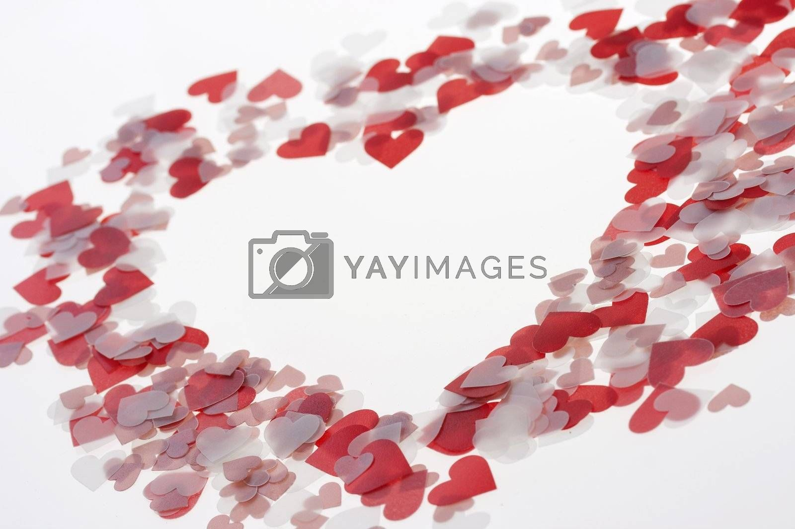 a picture of hearts in the shape of a heart
