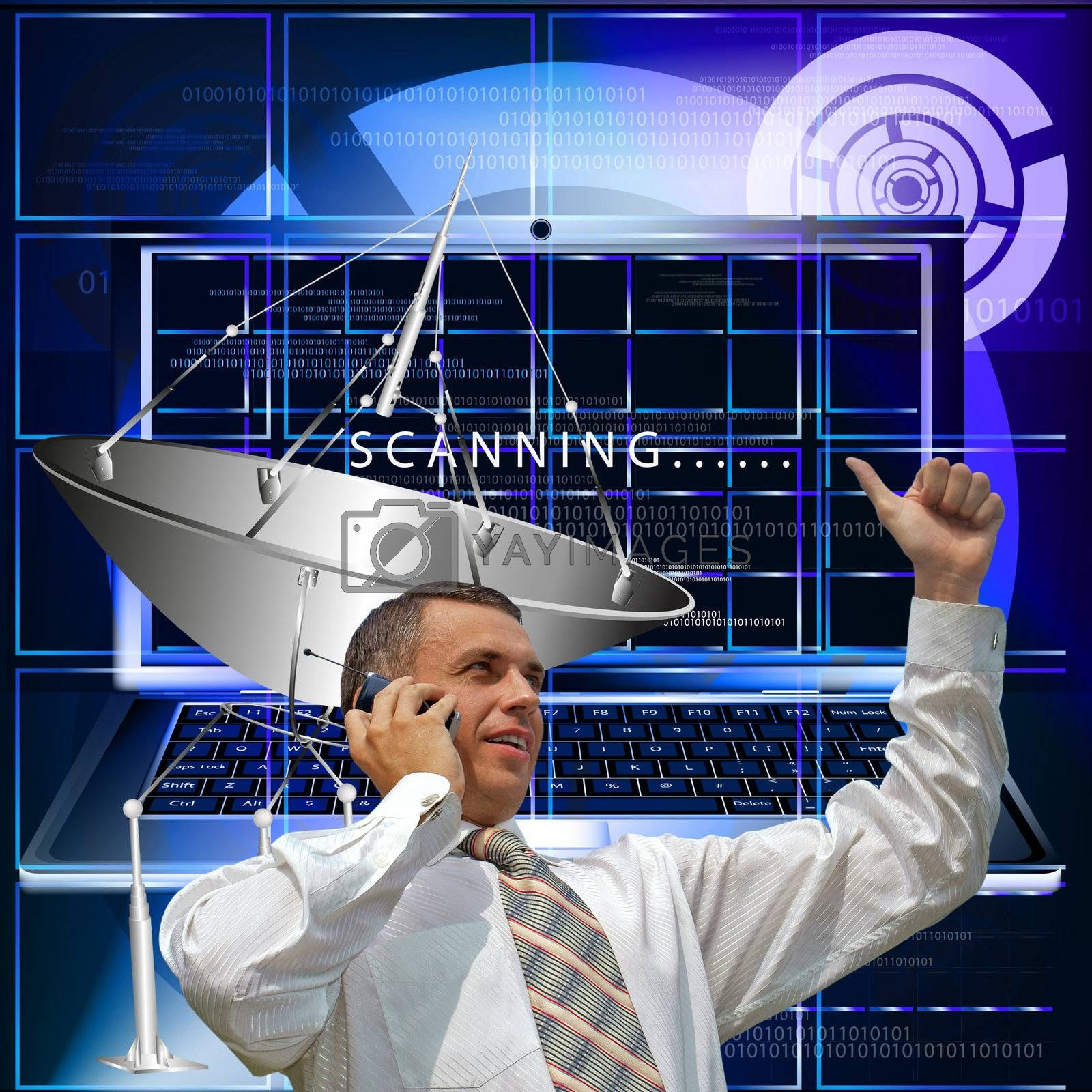 Creation of innovative systems of telecommunication communication and the Internet
