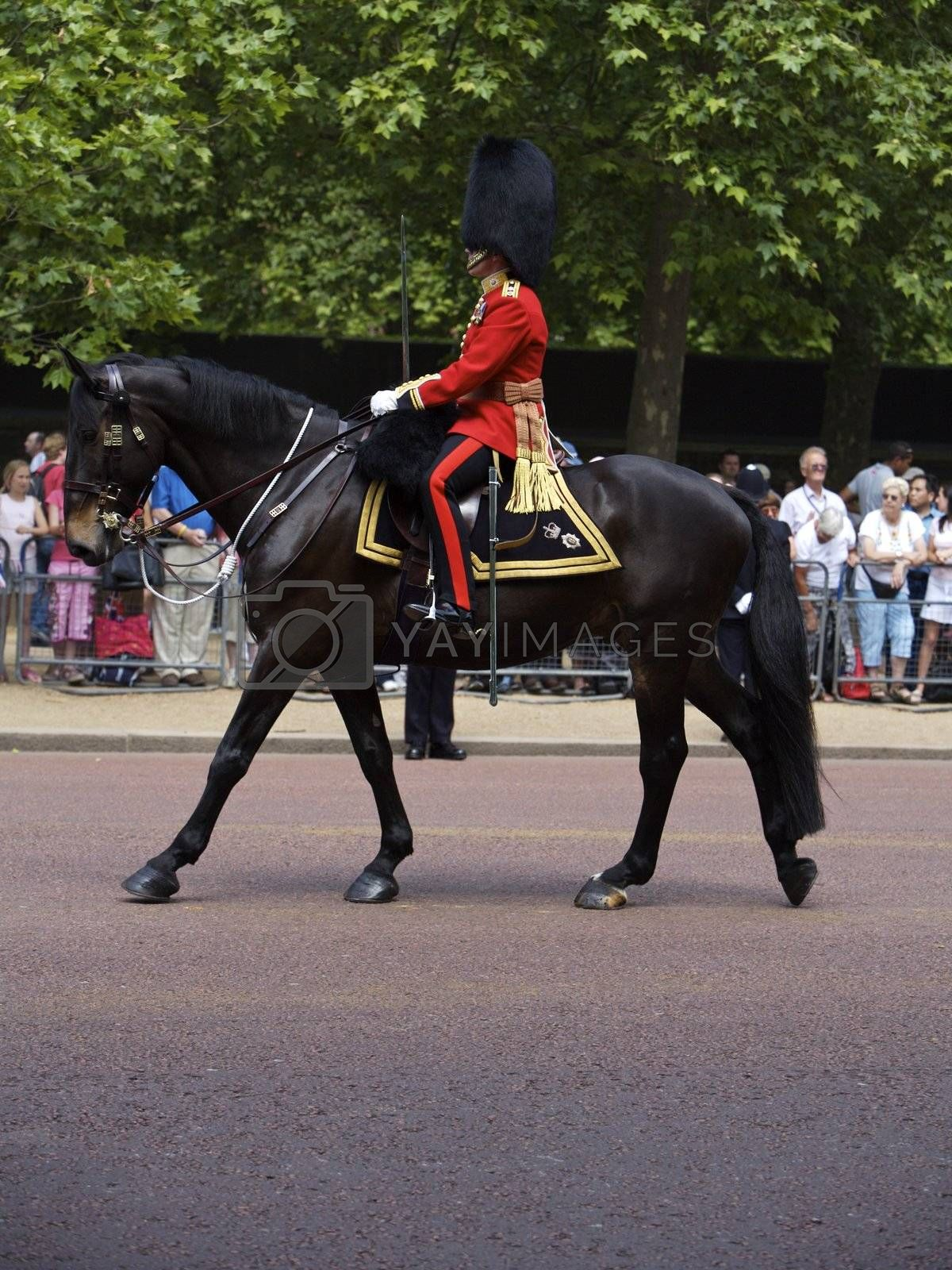 Trooping of the Colors for the Queen's Birthday one of London's Most Popular Annual Royal Events