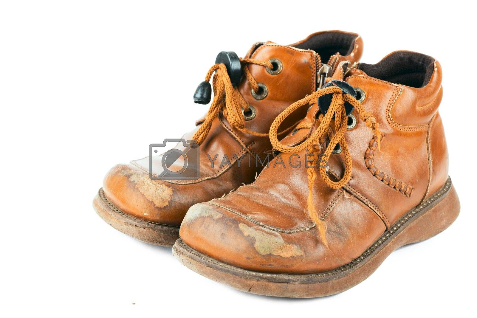 Royalty free image of Old shoes by AGorohov