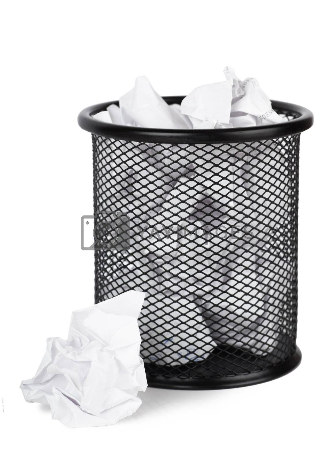 Royalty free image of Trash can by AGorohov