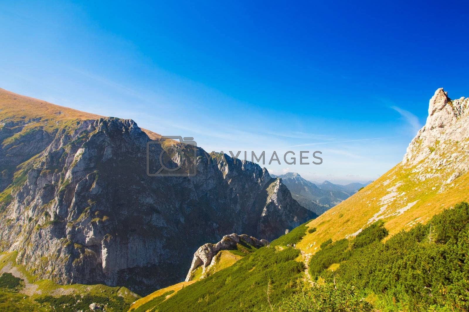 Royalty free image of Mountains landscape by photocreo