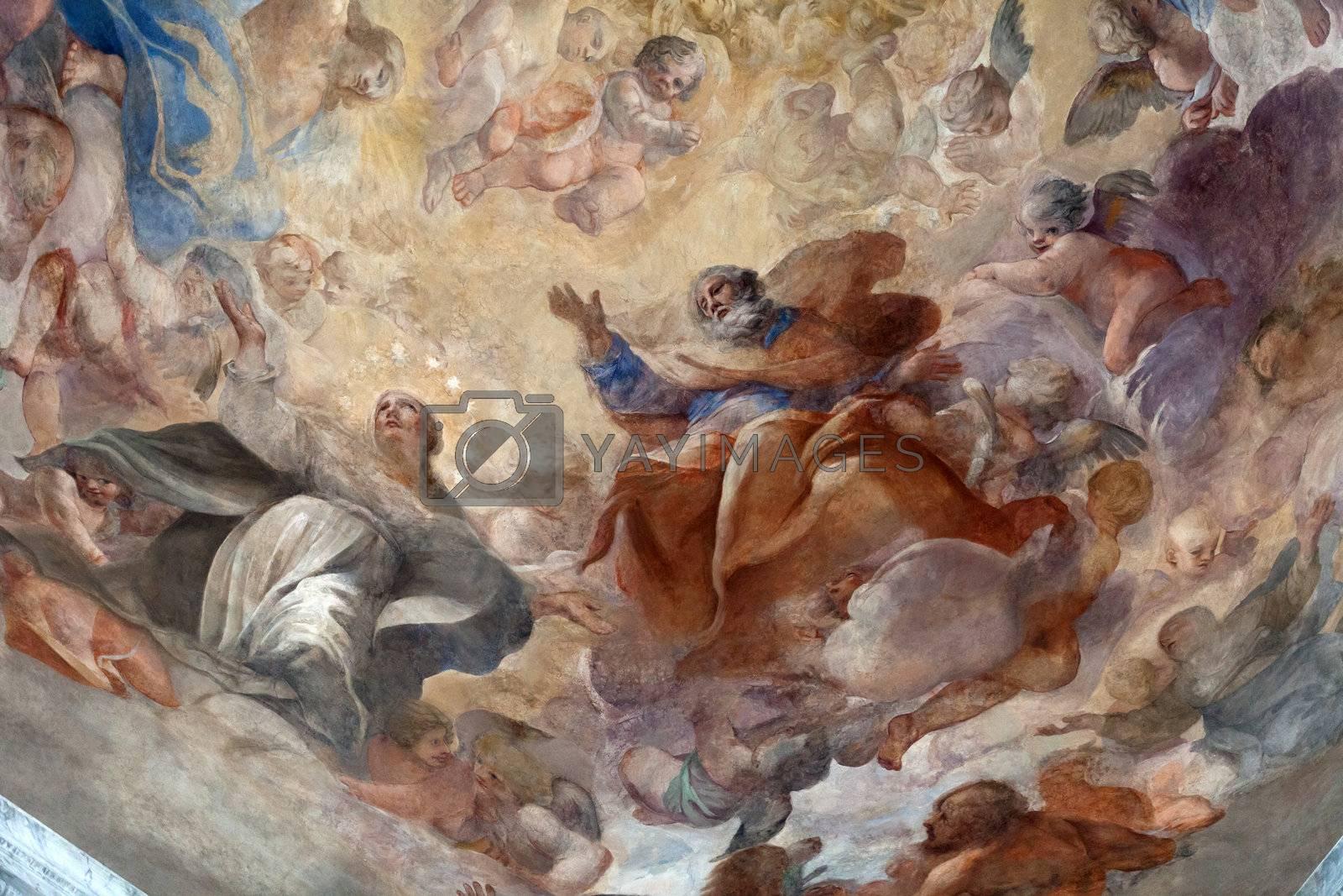 Rome - The Church of Santa Maria del Popolo