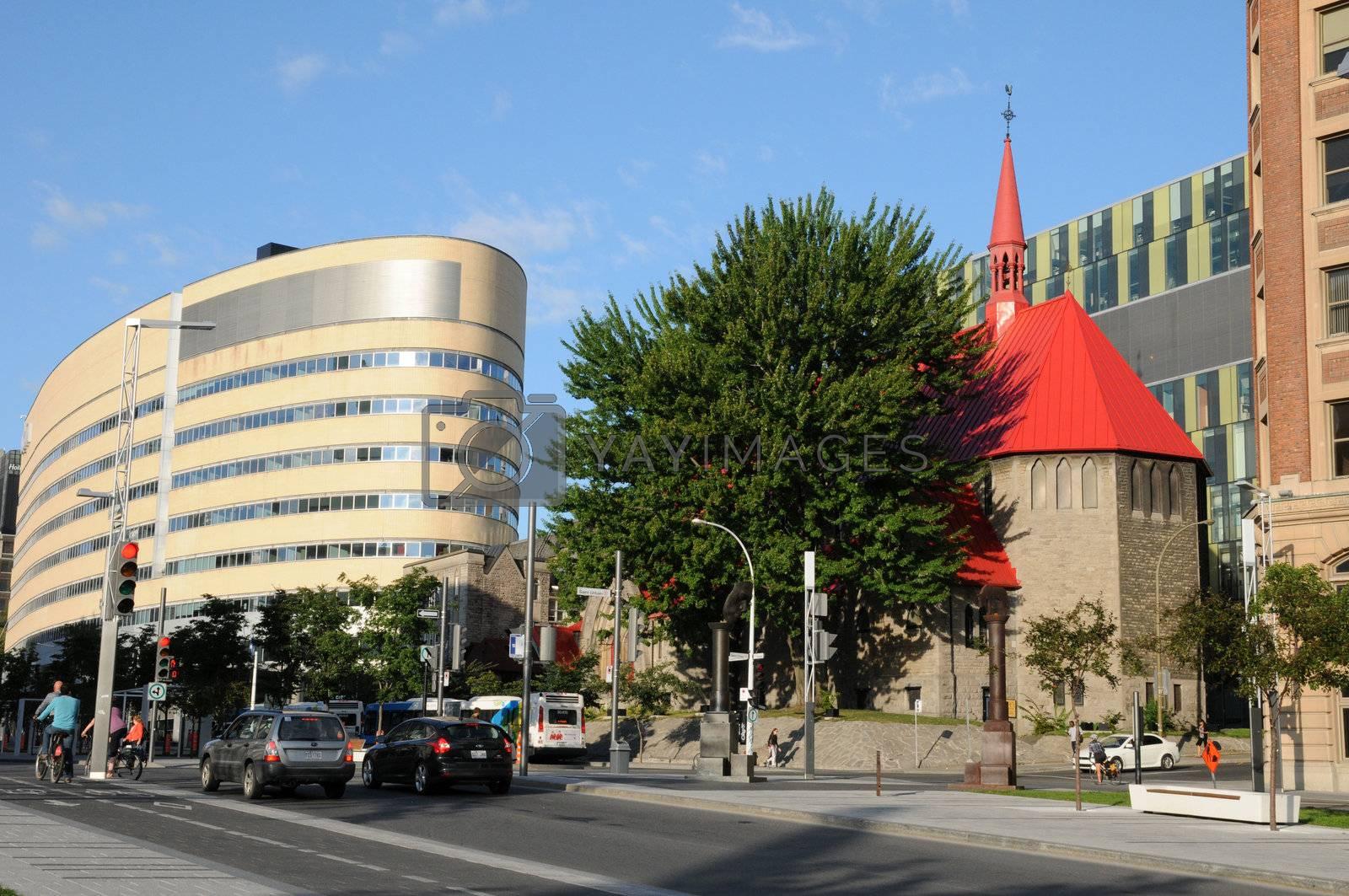 Canada, Quebec, Saint John l Evangeliste church in Montreal
