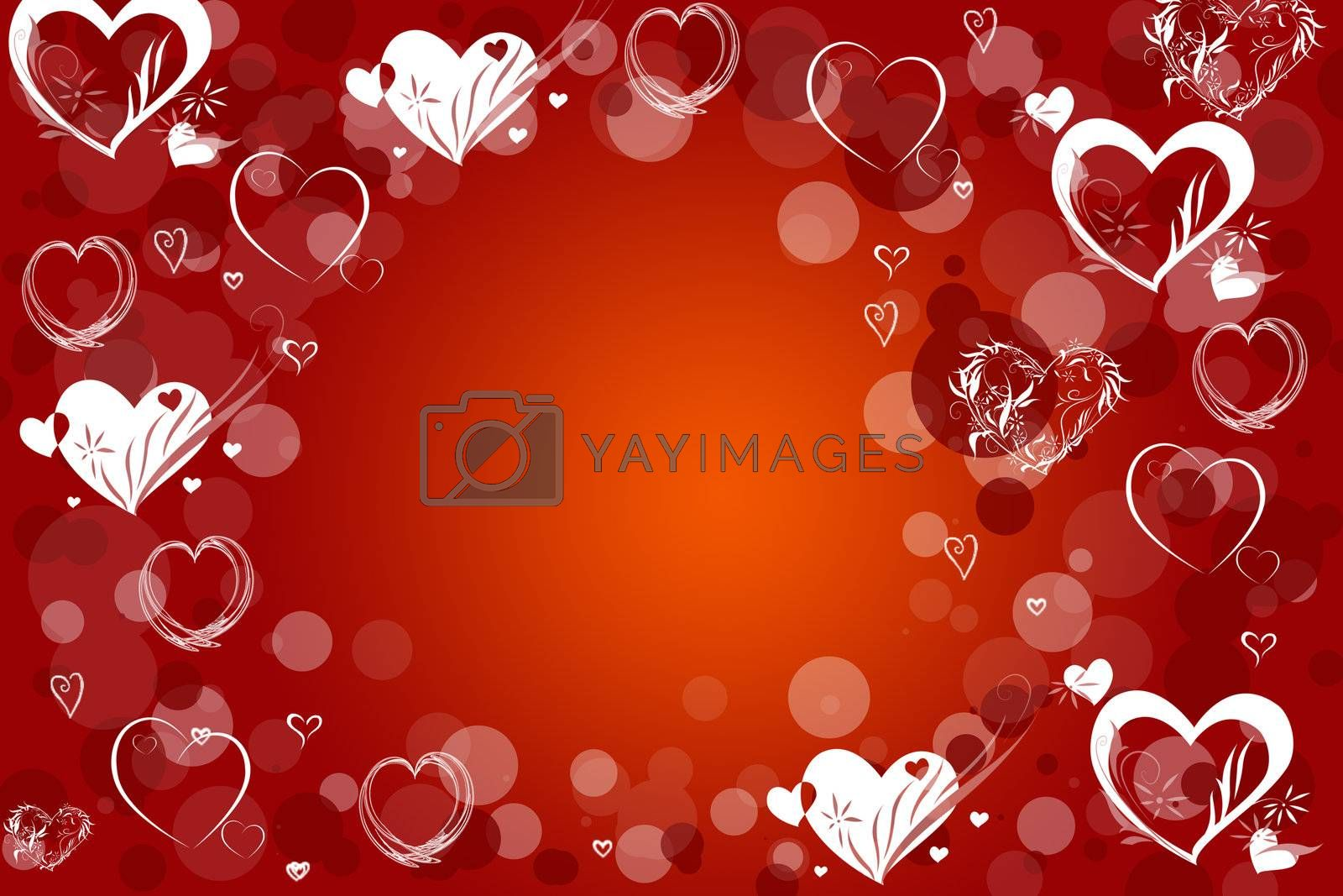 Abstraction  love red background for design artworks