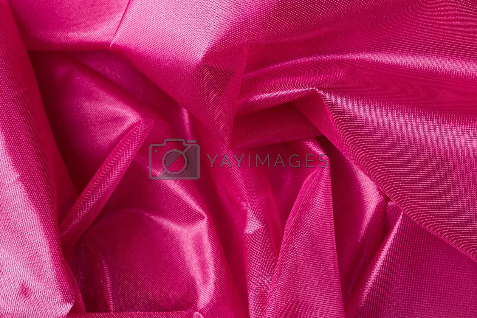 pink  silk fabric background