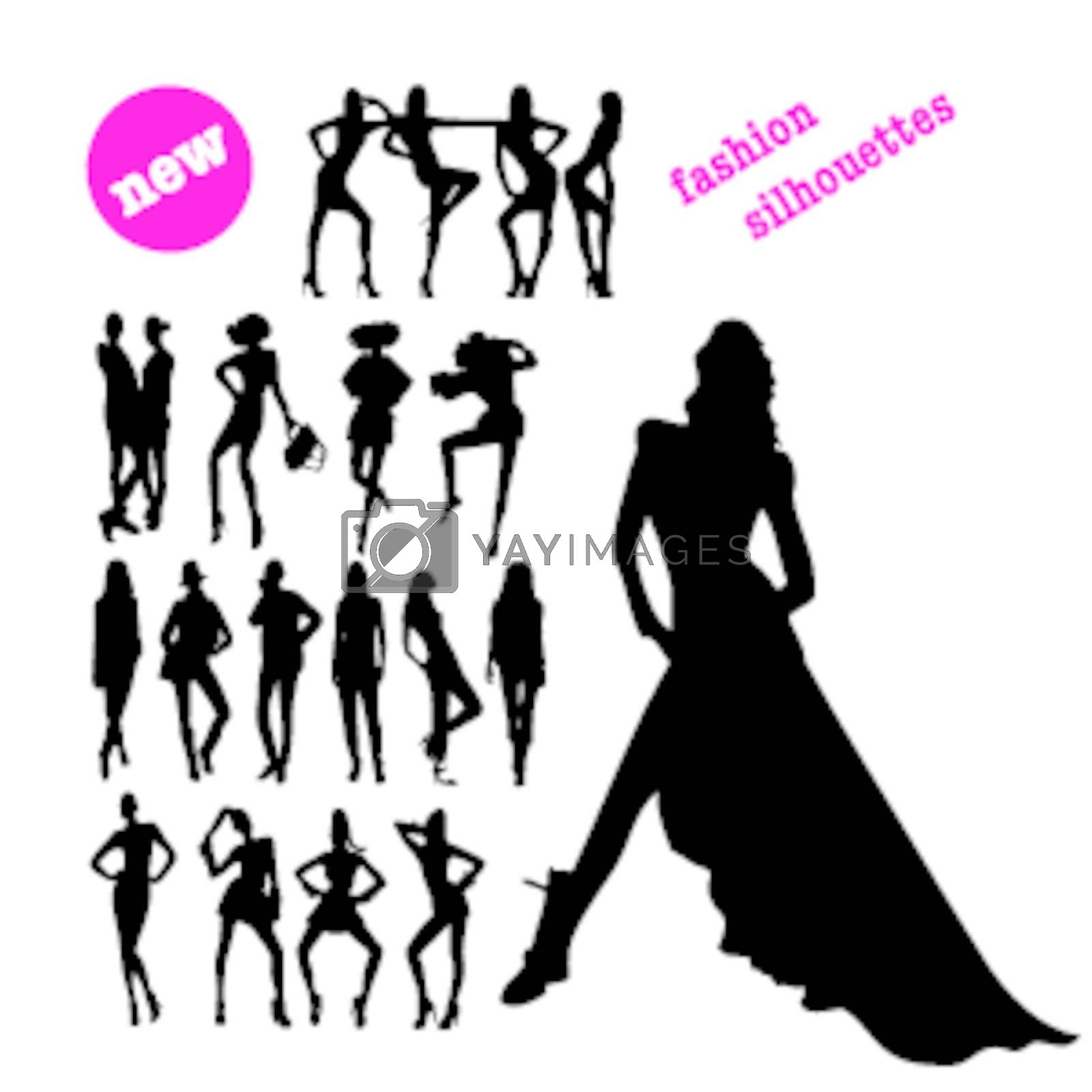 new fashion silhouettes