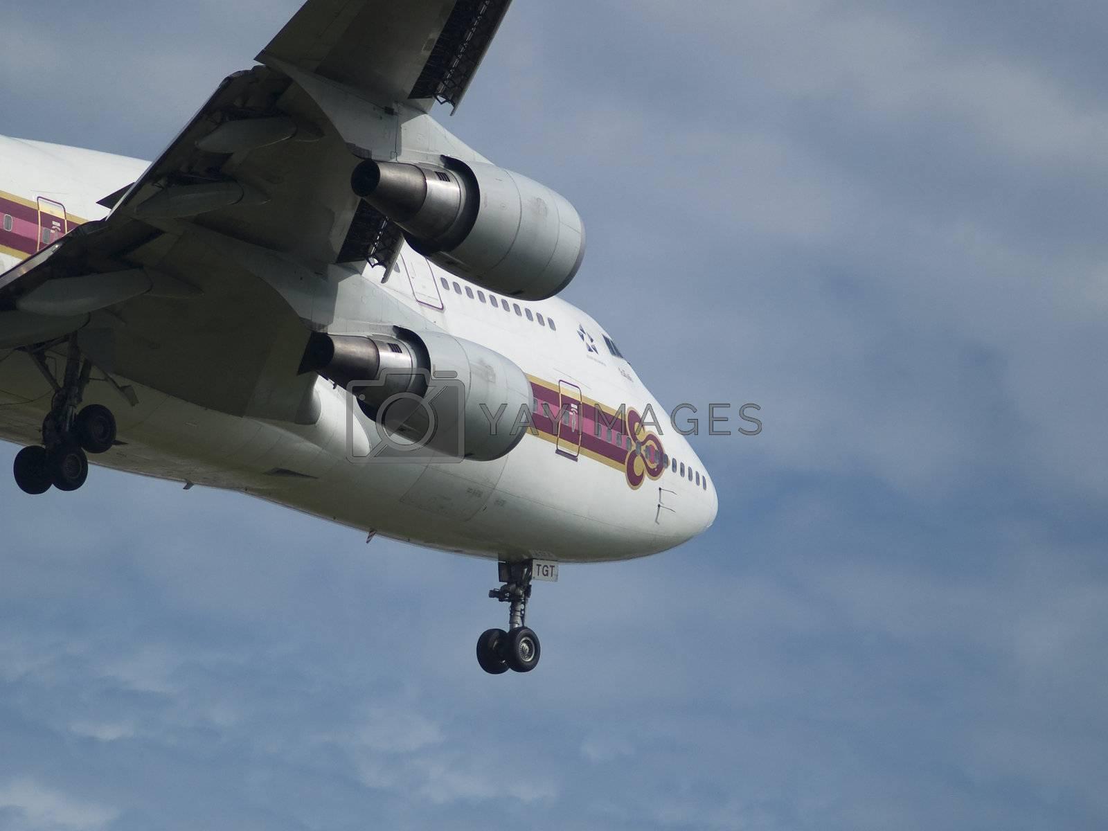Thai Airways Jumbo by epixx