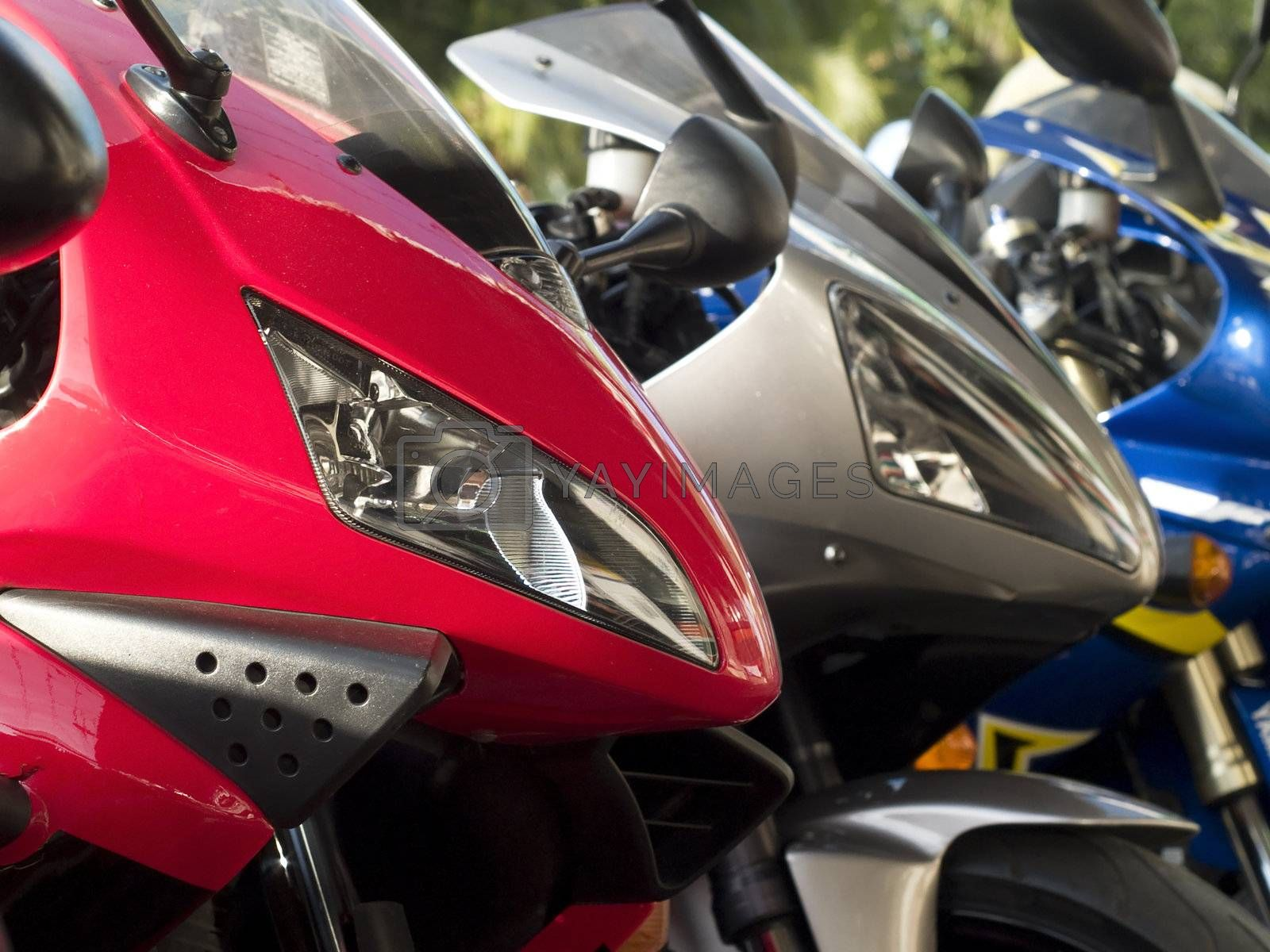 Three motorbikes by epixx