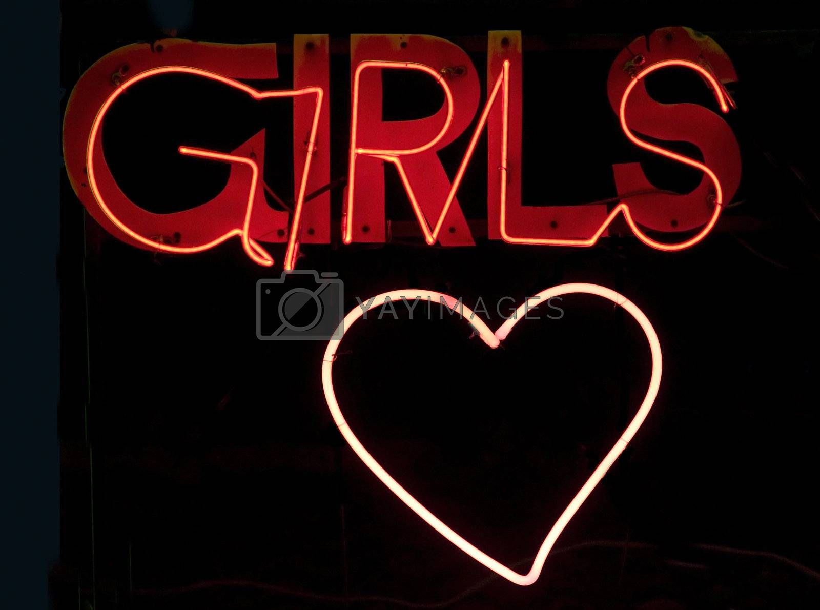 Girls in neon by epixx