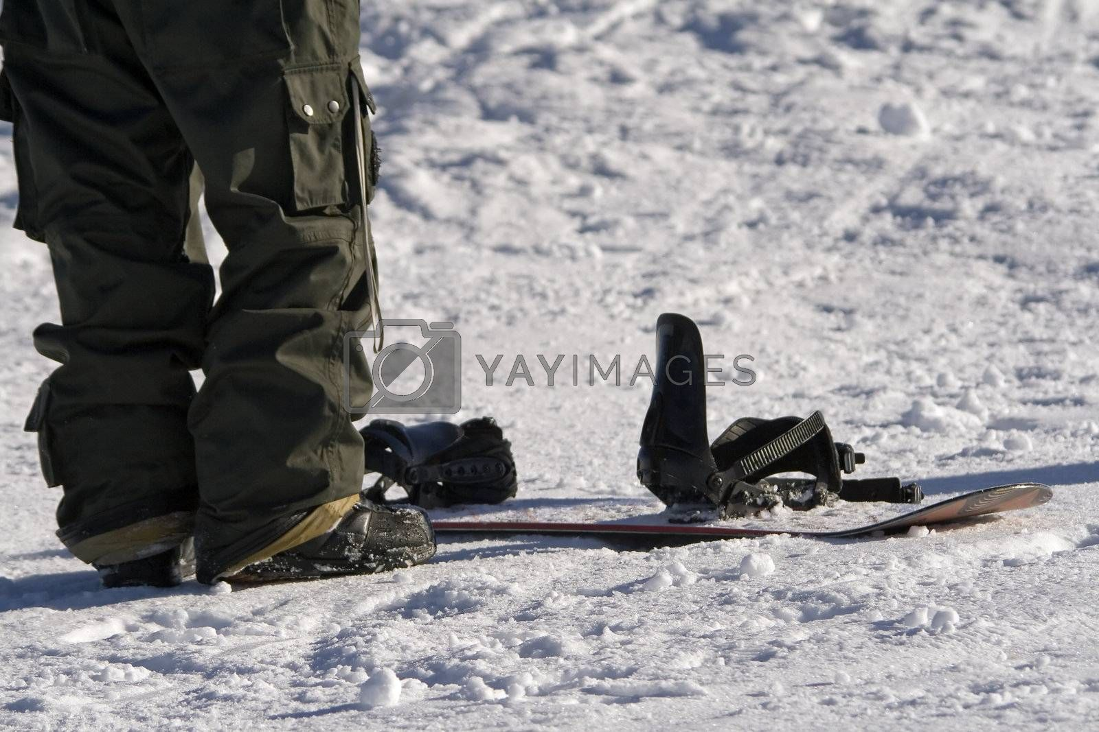 Snowboard feet  by PauloResende