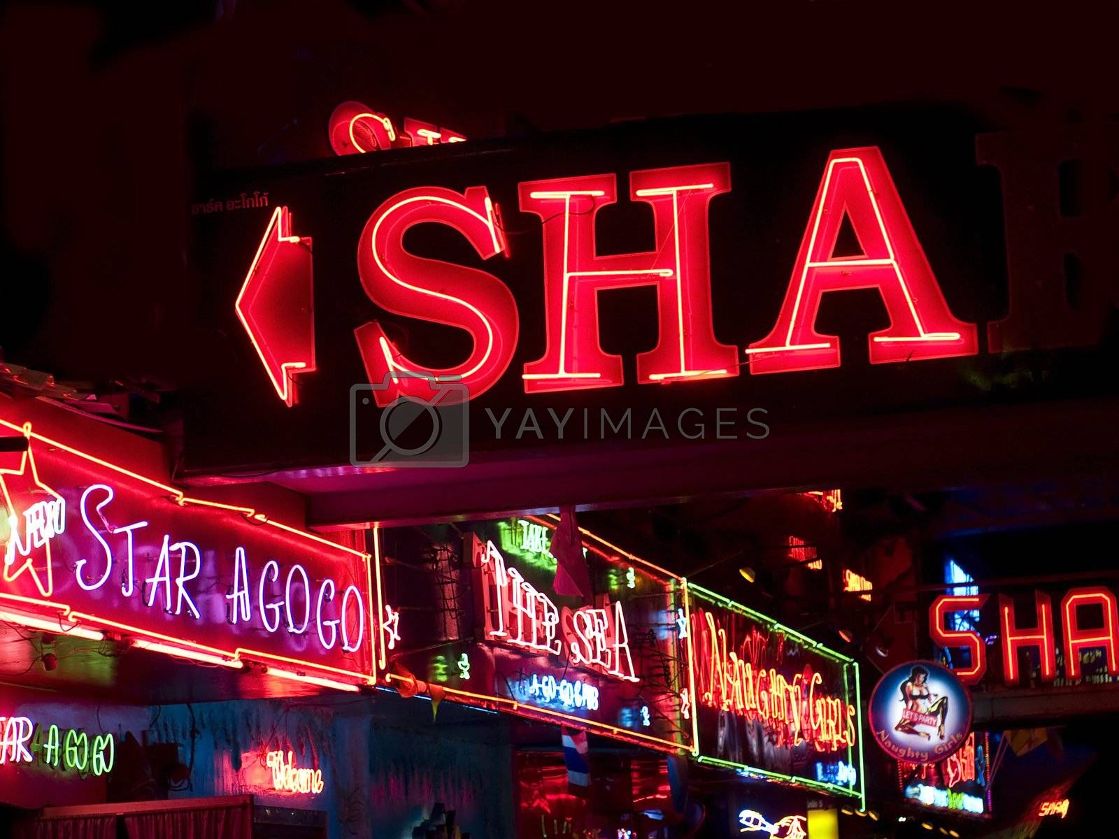 Royalty free image of Pattaya entertainment by epixx