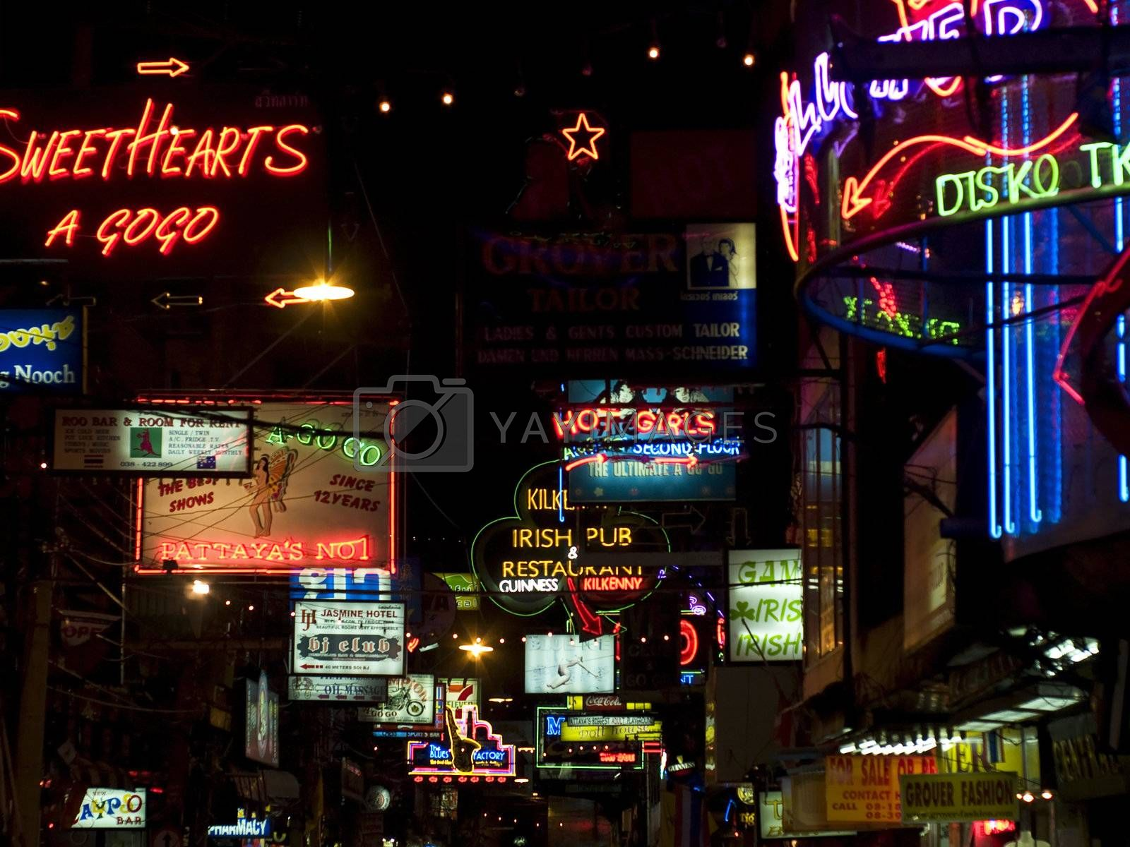 Neon entertainment by epixx