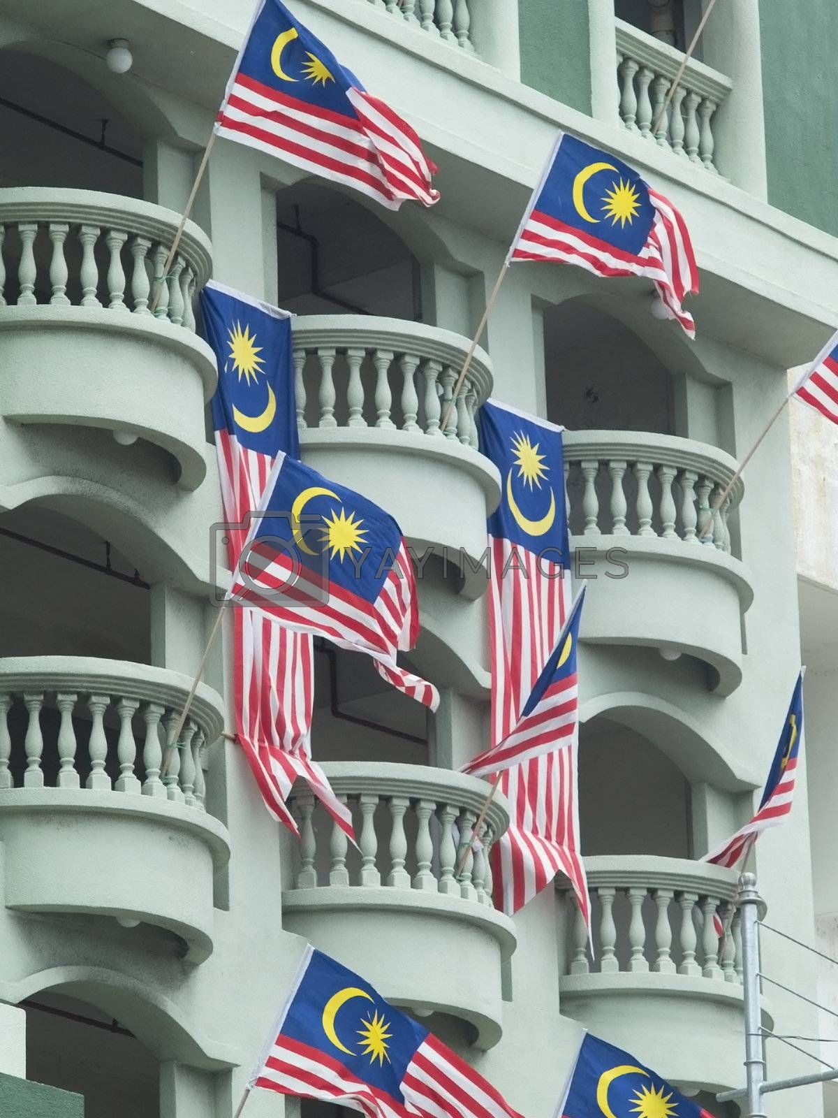 Malaysian flags by epixx