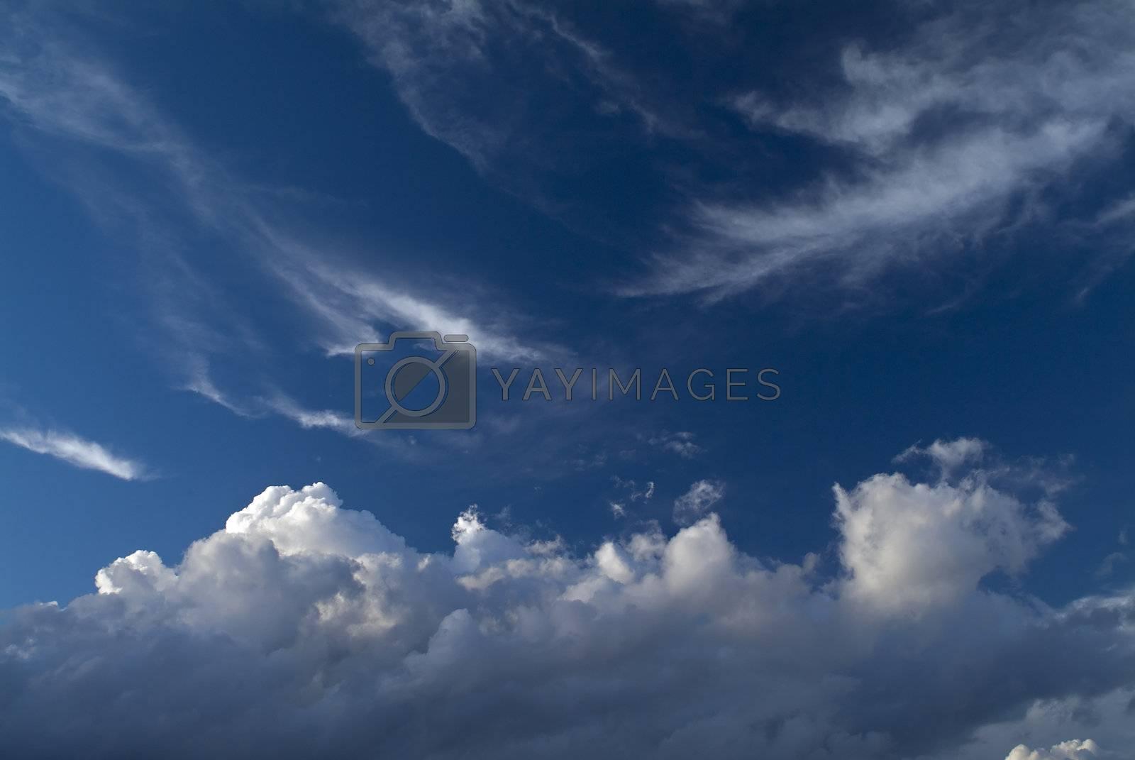 dramatic cloudscape by noam