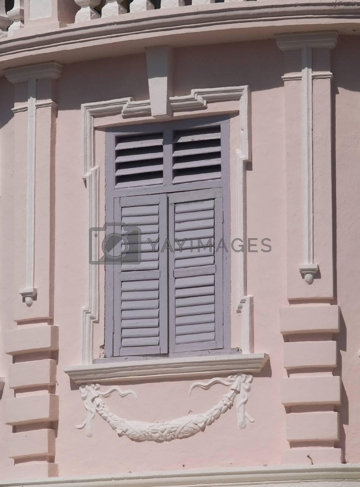 Baroque style window by epixx