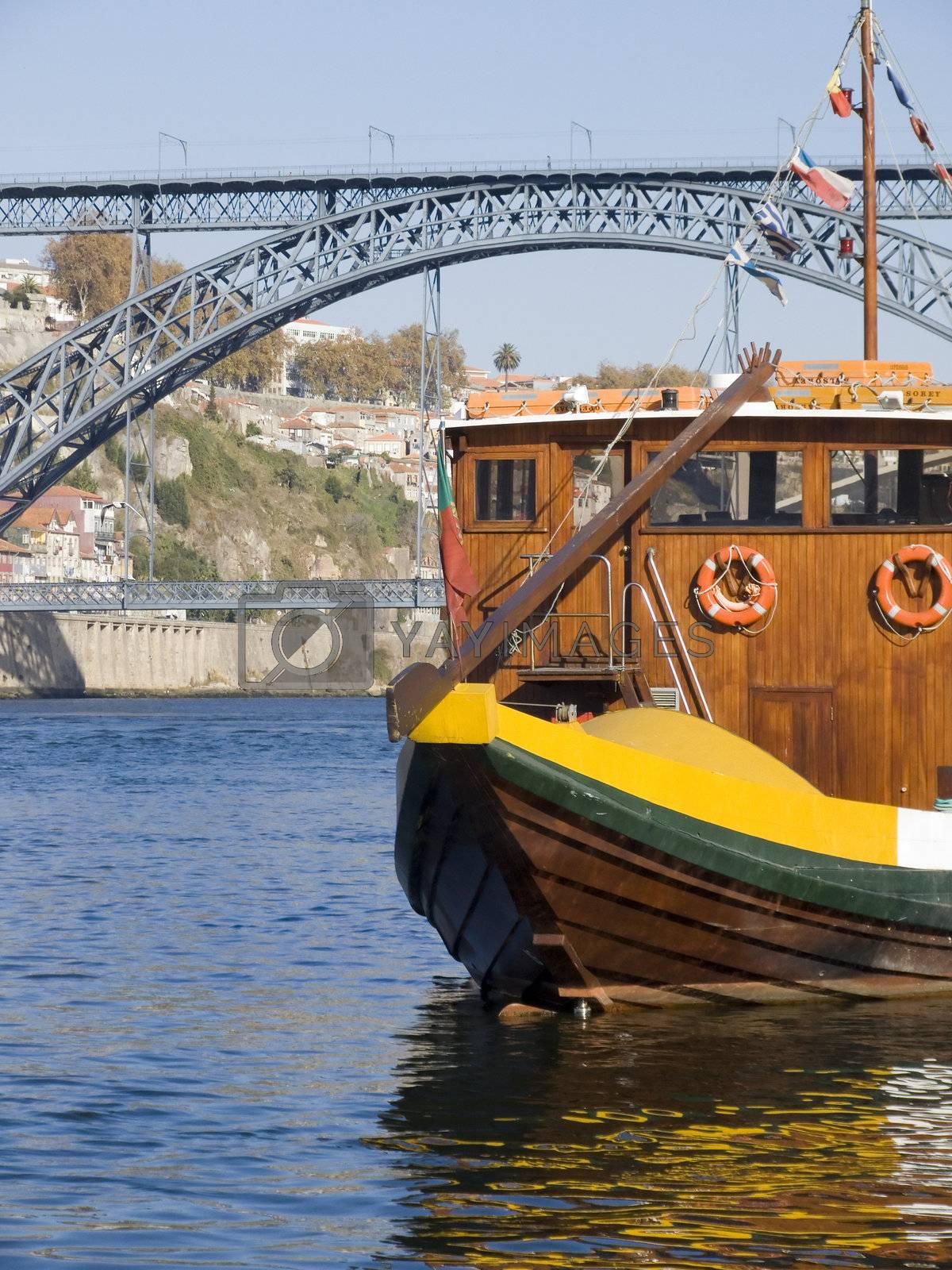 Tradicional boat at Porto by PauloResende