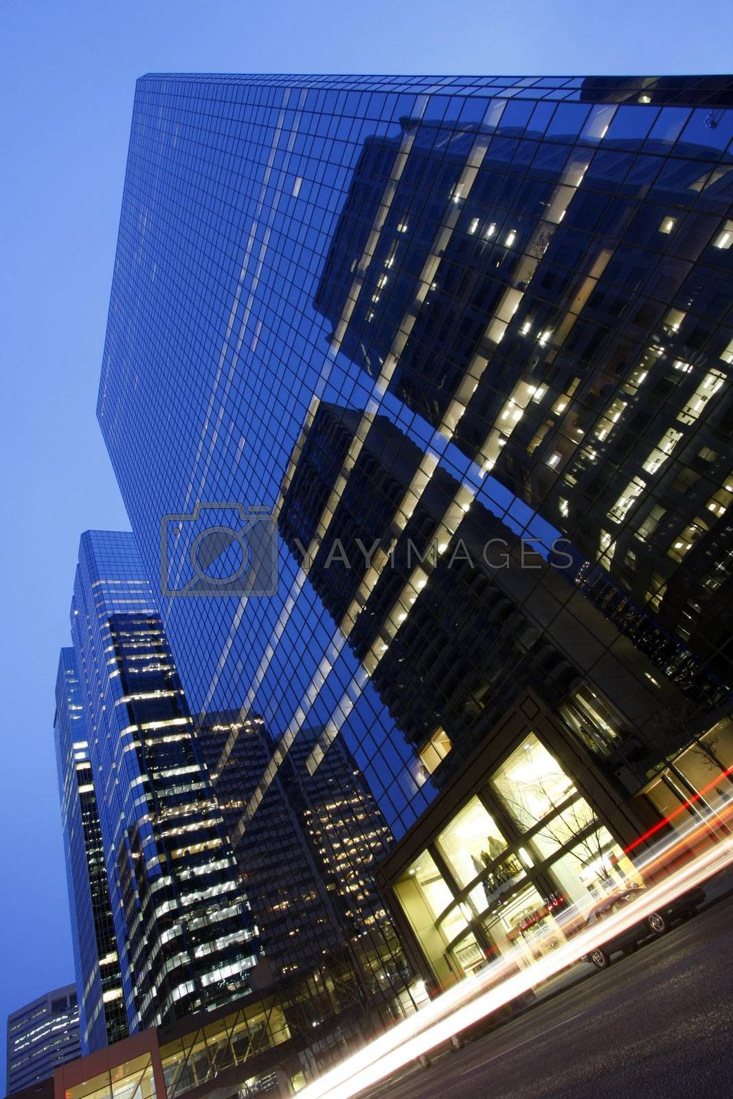 Modern urban architecture Low Light photography   (LLP)