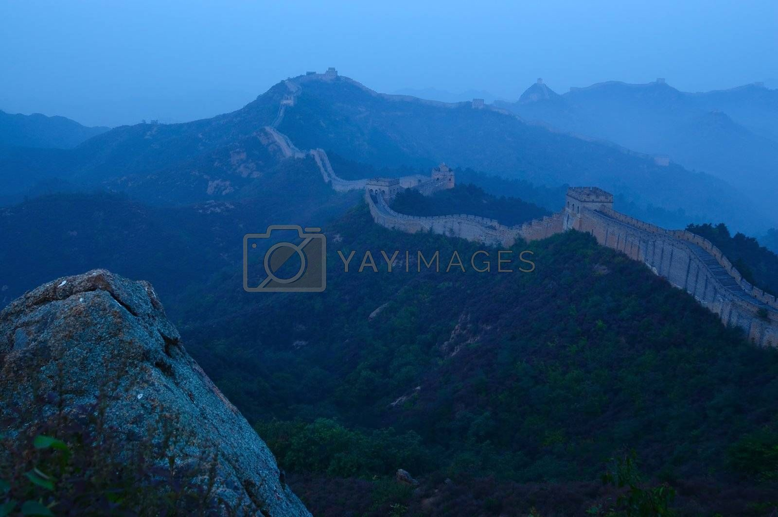 Great Wall of China by raywoo