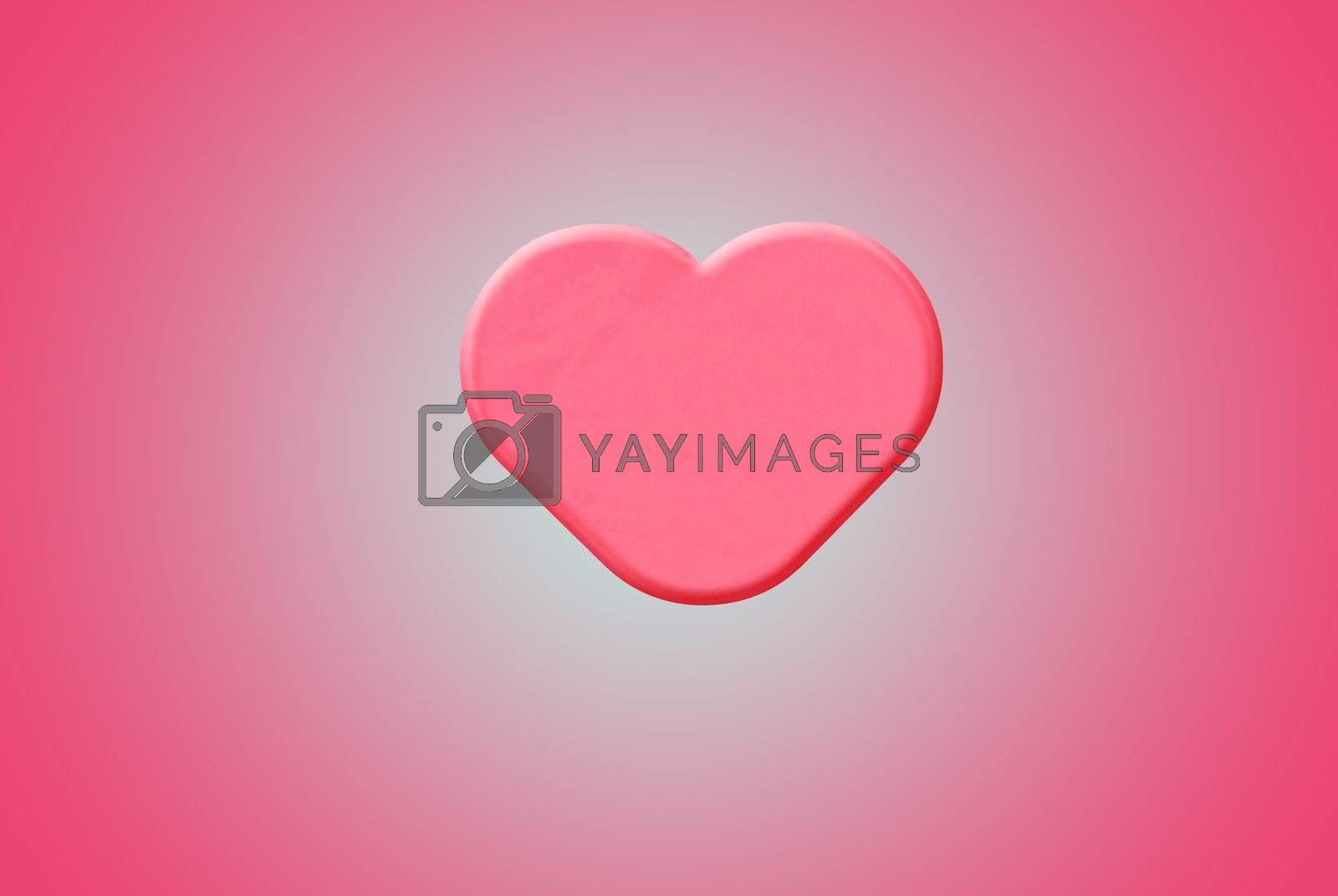 Sweet looking pink heart with line background, can be use for various love related concepts, design and print out.