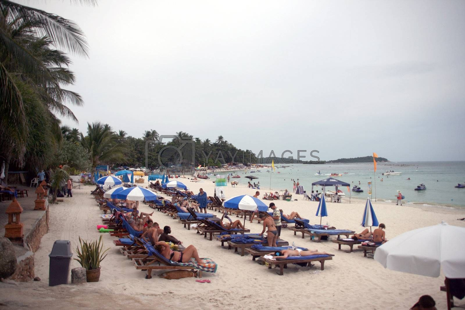 Royalty free image of chaweng beach by forwardcom