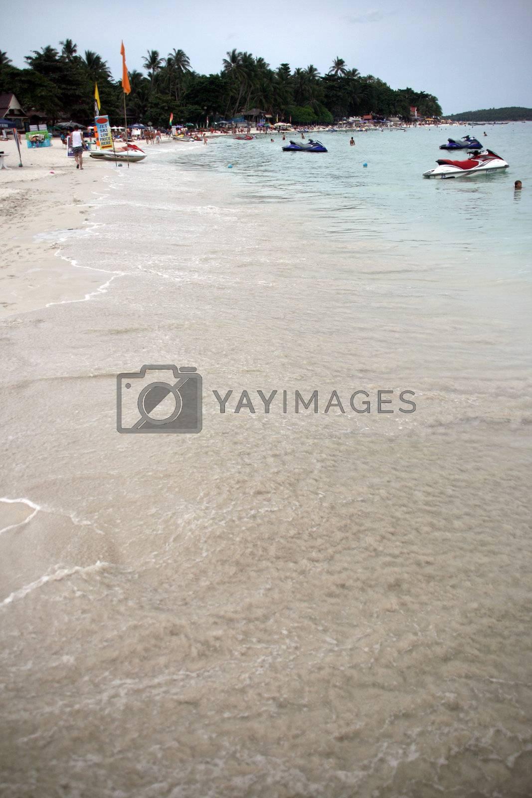 Royalty free image of sea shore by forwardcom