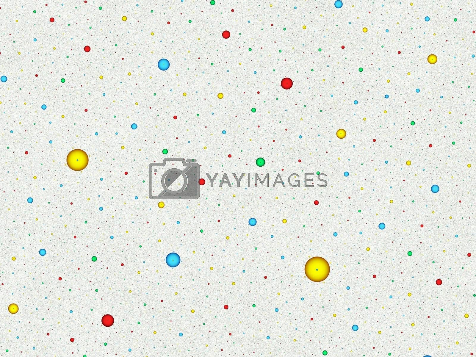 little colored points on white pattern- presentation background