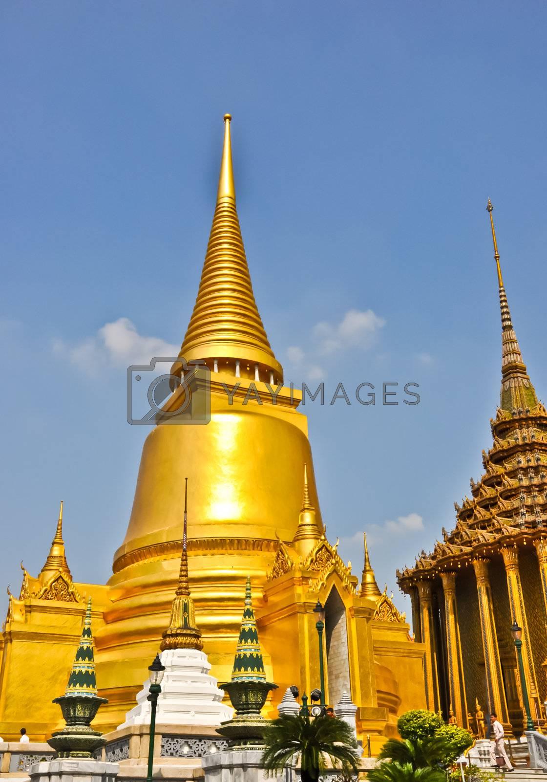 The fantastic Temple of Emerald Buddha