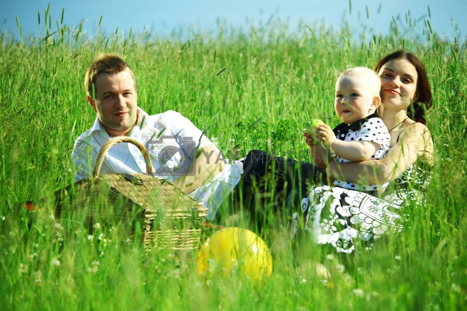 family picnic by Yellowj