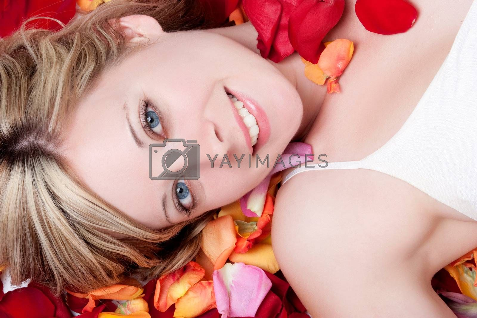 Royalty free image of Smiling Woman by keeweeboy