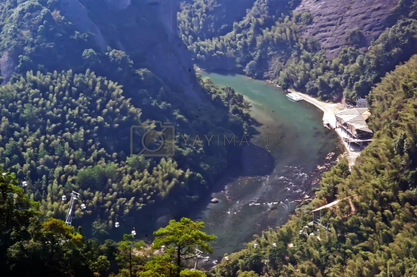 In the ZiYuan county, Guangxi, China has abundant tourism resources
